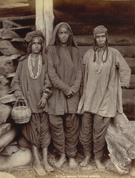'Pahari' or hill women